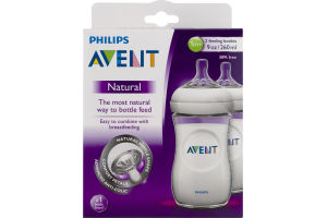 Philips Avent Feeding Bottle Natural (1m+) - 2 CT