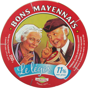 Сир 48% Камамбер Лайт Bons Mayennais ст 250г