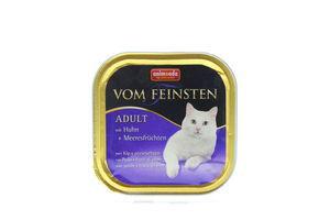 Корм Vom Feinsten для котів курка-морепродукти 100г