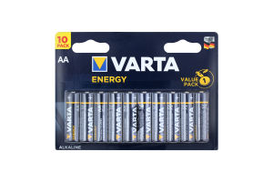 Батарейка AA 1.5V LR6 №4106 Energy Varta 10шт