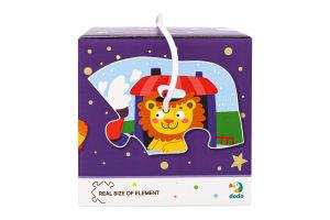 Пазл для детей от 18мес 2-3-4 элемента №300154 Транспорт Dodo 1шт
