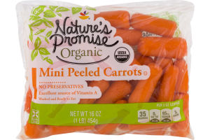 Nature's Promise Organic Mini Peeled Carrots