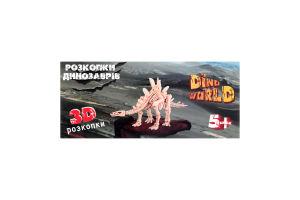 Набор для творчества для детей от 3-х лет №30561 Dino World Мир Лео 1шт