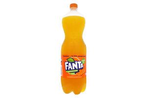 Напиток безалкогольный сильногазированный с апельсиновым соком Fanta п/бут 1.5л