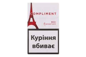Сигареты с фильтром Compliment Red 20шт