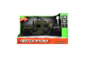 Машинка для детей от 3лет №7910A Военная техника Автопром 1шт