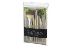 Smart Sense Bamboo Brush Kit - 5 CT