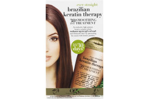 OGX Ever Straight Brazilian Keratin Therapy 30 Day Treatment - 2 CT