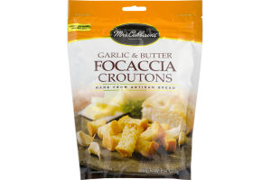 Mrs. Cubbison's Focaccia Croutons Garlic & Butter