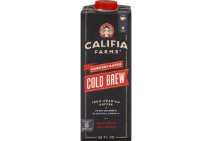 Califia Farms Concentrated Cold Brew Arabica Coffee