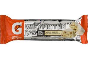 Gatorade Recover Whey Protein Bar Vanilla Almond