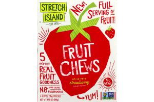 Stretch Island Fruit Chews Oh So Very Strawberry - 5 PK