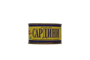 Сардина Креон натуральная с добавлением масла