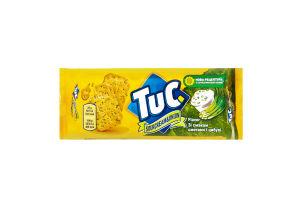 Крекер соленый сметана-лук Tuc 100г