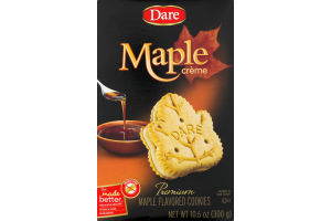 Dare Cookies Maple Creme