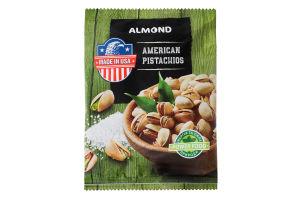 Фісташка в лушпинні смажена Almond м/у 150г