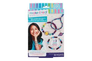 Набір для дітей від 8років для створення шарм-браслетів №MR1208 Зоряний пил Make it Real 1шт