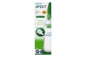 Пляшечка для годування 300мл для дітей від 6-ти місяців Essential Avent 1шт
