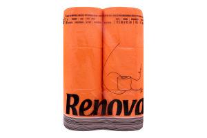 Бумага туалетная Renova оранжевая