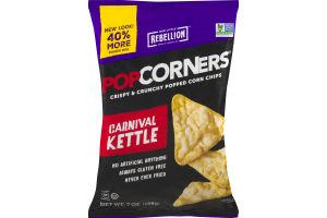 PopCorners Popped Corn Chips Carnival Kettle