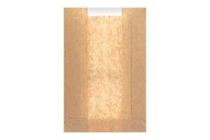 Пакет бумажный с окном 210х140х60мм №303480 Конві-Пак 1шт