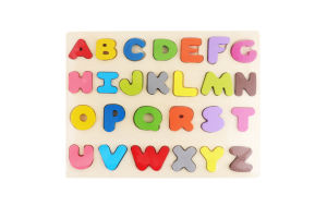 Набор букв Алфавит деревянных Оффтоп