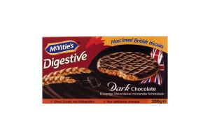 Печенье пшеничное в шоколаде Digestive McVitie's к/у 200г