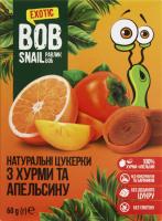 Цукерки фруктові Хурма-апельсин Bob Snail к/у 60г