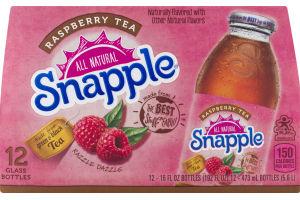 Snapple All Natural Raspberry Tea - 12 PK