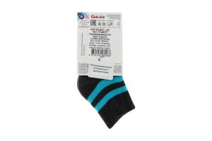 CONTE-KIDS SOF-TIKI Шкарпетки дитячі р.10 210 темно-сірий-бірюза