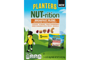 Planters NUT-rition Breakfast Blend - 5 PKS