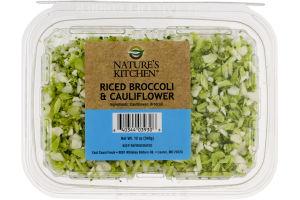 Nature's Kitchen Riced Broccoli & Cauliflower