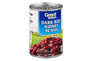 Great Value Dark Red Kidney Beans No Salt Added Great Value 78742036762 Customers Reviews Listex Online