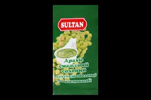Арахіс смажений солоний в хрусткій оболонці зі смаком васабі Sultan м/у 60г