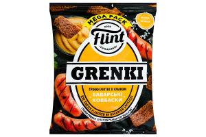 Гренки Flint ржаные со вкусом баварских колбасок