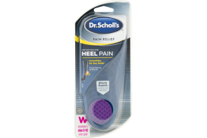 Dr. Scholl's Orthotics For Heel Pain Women's Size 5-12