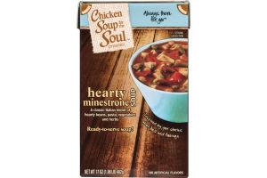 Chicken Soup For The Soul Hearty Minestrone Soup
