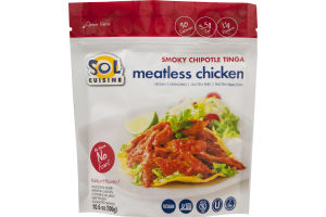 Sol Cuisine Meatless Chicken Smoky Chipotle Tinga