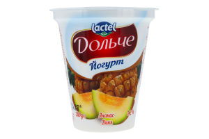 Йогурт 3.2% Ананас-дыня Дольче ст 280г