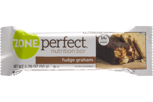 Zone Perfect Nutrition Bar Fudge Graham