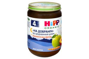 Каша для детей от 4мес манная молочная с фруктами Спокойной ночи Hipp с/б 190г