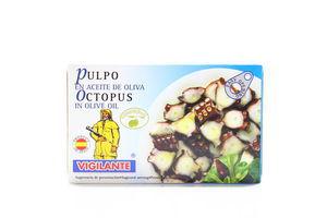Осьминоги в оливковом масле Vigilante 115г