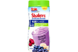 Dole Nutrition Plus Shakers Smoothie Blue Power Blueberry Banana with Red Beet