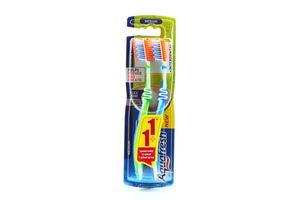Зубная щетка Tooth&Tongue+Interdental medium 1+1 Акция Aquafresh