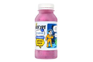 Йогурт 3.3% козячий з чорницею Доообра Ферма п/пл 250мл
