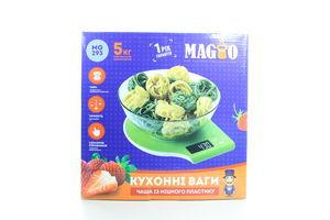 Весы кухонные Magio