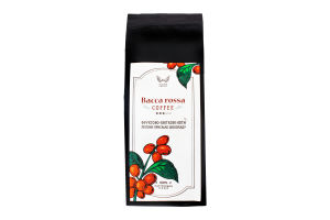 "Кава натуральна смажена мелена ""BACCA ROSSA"" 200 грам"