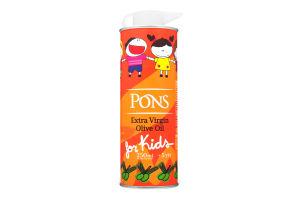 Масло оливковое Pons Kids Экстра Вирджин