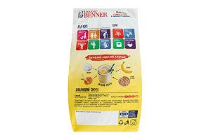 Пластівці з льоном та висівками Суміш 3 злака Doctor Benner м/у 700г
