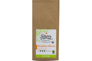 Nature's Promise Organic Ground Coffee Breakfast Blend